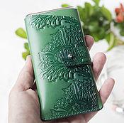 Сумки и аксессуары handmade. Livemaster - original item Leather case cover for phone, for iPhone 6,7