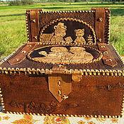 """Для дома и интерьера ручной работы. Ярмарка Мастеров - ручная работа """"Заветная шкатулка"""" из бересты. Handmade."""
