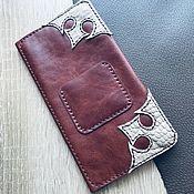 Сумки и аксессуары handmade. Livemaster - original item Purse leather. Handmade.