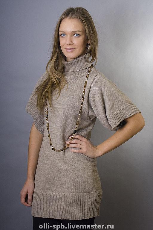 Вязаное платье туника доставка