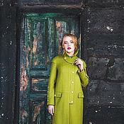 Одежда ручной работы. Ярмарка Мастеров - ручная работа Пальто-халат Armor яблоко осень. Handmade.