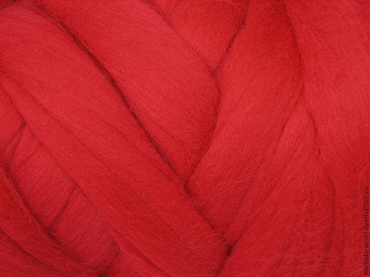 Валяние ручной работы. Ярмарка Мастеров - ручная работа. Купить Шерсть для валяния меринос 18 микрон цвет Пламя (Fire). Handmade.