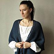 """Аксессуары ручной работы. Ярмарка Мастеров - ручная работа """"Dress code"""" Традиционная датская шаль вязаная. Handmade."""
