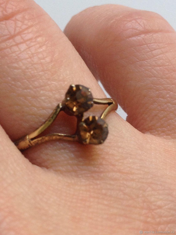 Винтаж: 875 серебряное винтажное кольцо, Винтажные кольца, Москва, Фото №1