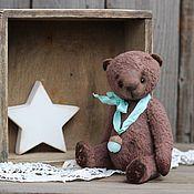 Куклы и игрушки ручной работы. Ярмарка Мастеров - ручная работа Тедди мишка Брауни. Handmade.