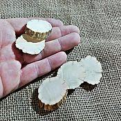 Материалы для творчества handmade. Livemaster - original item Blanks for jewelry: Cut down the horns of an elk. 5 pieces.. Handmade.
