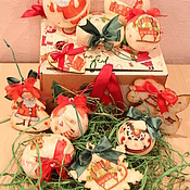 """Для дома и интерьера ручной работы. Ярмарка Мастеров - ручная работа Набор """"детские игрушки №5"""". Handmade."""