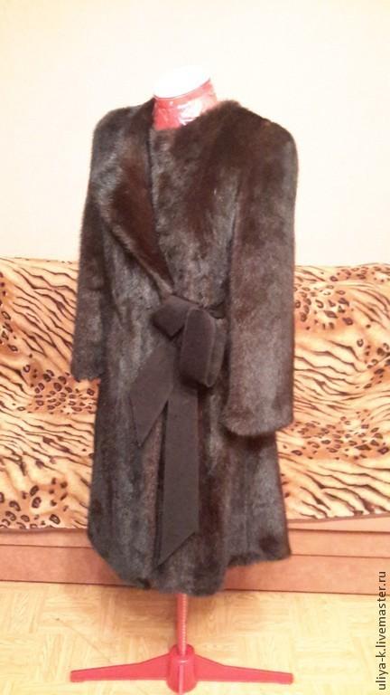 Верхняя одежда ручной работы. Ярмарка Мастеров - ручная работа. Купить перекрой норковой шубки. Handmade. Шуба из норки