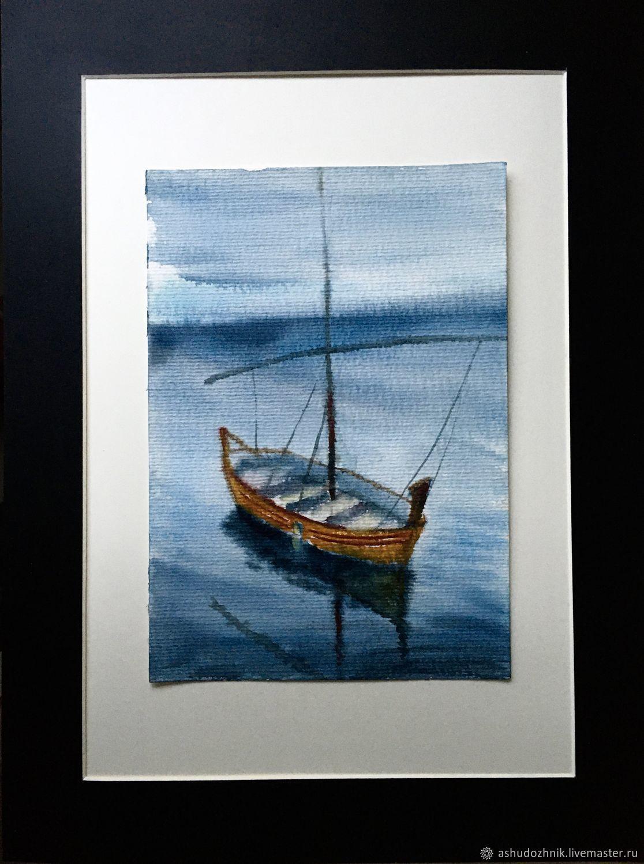 лодка, Картины, Москва,  Фото №1