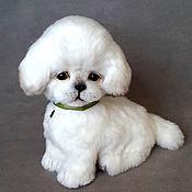 Куклы и игрушки handmade. Livemaster - original item puppy, Binoa. Handmade.