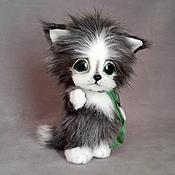 Куклы и игрушки ручной работы. Ярмарка Мастеров - ручная работа котенок Дымок. Handmade.