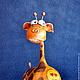 Игрушки животные, ручной работы. Жирафы. Радуга Гульнара Мухтарова (Rainbow-Dolls). Ярмарка Мастеров. Купить подарок, интересный подарок