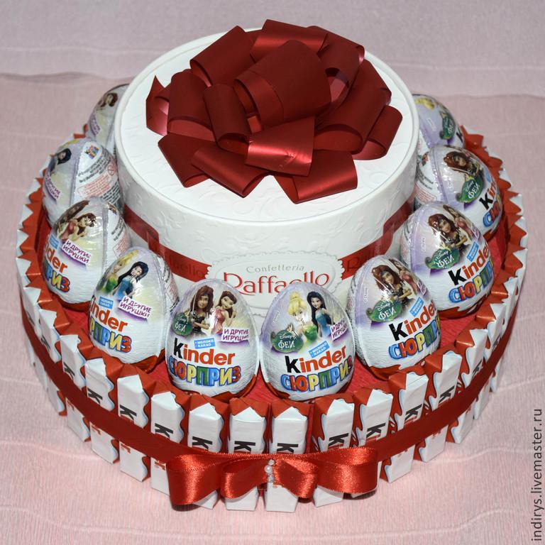 Торт из киндера фото