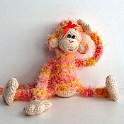 Куклы и игрушки ручной работы. Ярмарка Мастеров - ручная работа Вязаные обезьянки - символ 2016 года. Handmade.