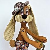 Куклы и игрушки ручной работы. Ярмарка Мастеров - ручная работа Ароматный кролик Фока. Handmade.