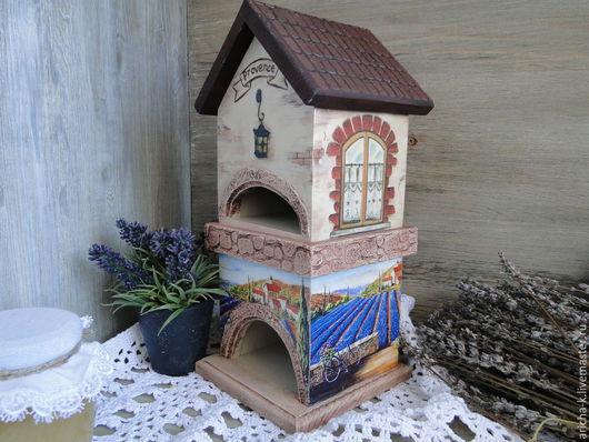 """Кухня ручной работы. Ярмарка Мастеров - ручная работа. Купить Чайный домик """"Лавандовое поле"""". Handmade. Разноцветный, чайный домик"""