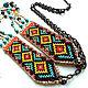 Boho Indian necklace. Necklace. helgaboho. Online shopping on My Livemaster.  Фото №2