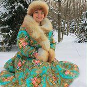 """Одежда ручной работы. Ярмарка Мастеров - ручная работа Зимнее пальто """"Бирюсинка"""".. Handmade."""