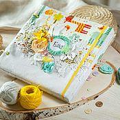 Канцелярские товары handmade. Livemaster - original item Photo album baby