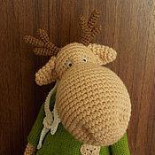Куклы и игрушки handmade. Livemaster - original item Elk Venya (27 cm). Handmade.