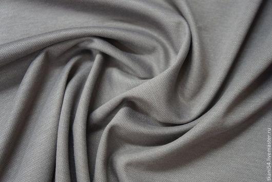 Шитье ручной работы. Ярмарка Мастеров - ручная работа. Купить Трикотаж костюмный Lakoste, 150 см, серый. Handmade. Серый