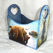 Для дома и интерьера handmade. Livemaster - original item Box Relax. Handmade.