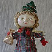"""Куклы и игрушки ручной работы. Ярмарка Мастеров - ручная работа кукла """"Новый год из детства"""". Handmade."""
