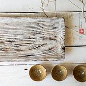 """Для дома и интерьера ручной работы. Ярмарка Мастеров - ручная работа чабань, чайная доска """"круги на воде"""" поднос. Handmade."""