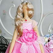 Куклы и игрушки ручной работы. Ярмарка Мастеров - ручная работа Текстильная кукла Королева бала. Handmade.
