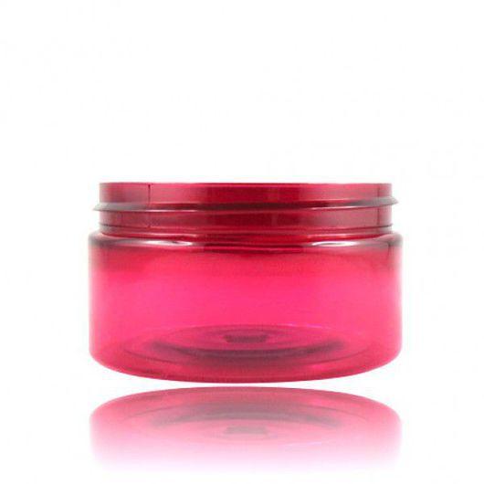 Упаковка ручной работы. Ярмарка Мастеров - ручная работа. Купить Пластиковая розовая баночка (100 мл). Handmade. Банка, баночки