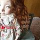 Коллекционные куклы ручной работы. Любочка-сердцеедка авторская кукла из ладолла 28см. Елена Коверзнева (ElenaKoverzneva). Ярмарка Мастеров.
