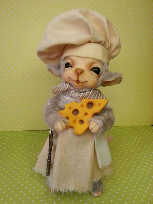 Коллекционные куклы ручной работы. Ярмарка Мастеров - ручная работа. Купить Мышки малышки. Handmade. Мышка, плюш