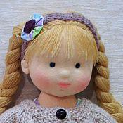 Куклы и игрушки ручной работы. Ярмарка Мастеров - ручная работа Любаша, 34 см. Handmade.