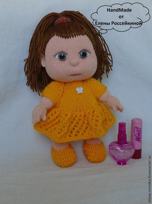 Человечки ручной работы. Ярмарка Мастеров - ручная работа. Купить Кукла вязаная. Handmade. Бежевый, кукла интерьерная, вязаный пупс