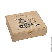 Сувениры и подарки handmade. Livemaster - original item Box for packing gifts.. Handmade.