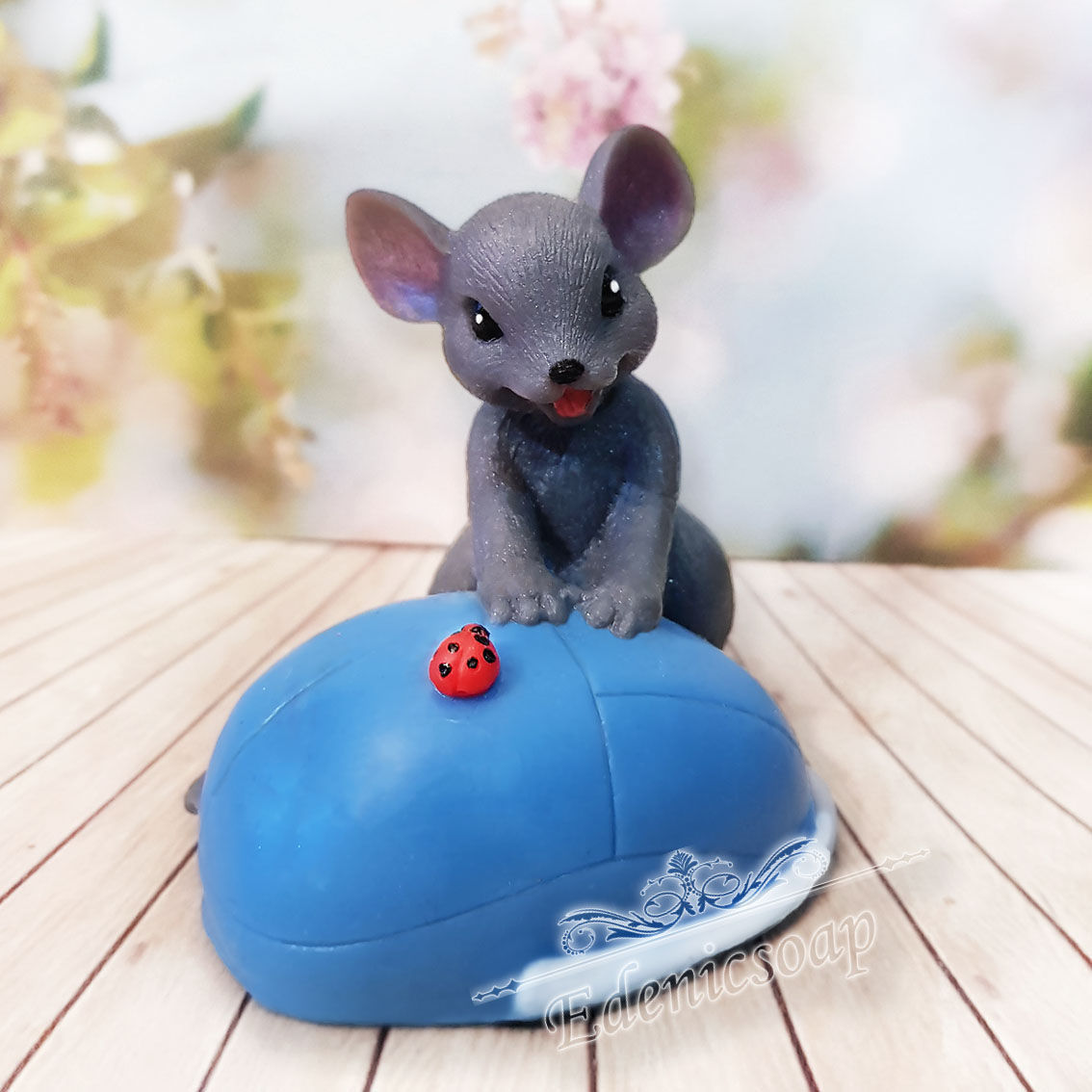 """""""Мышка и мышка"""" мыло подарочное детское символ нового года, Мыло, Москва,  Фото №1"""