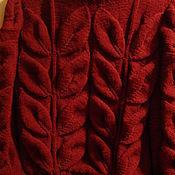 Одежда handmade. Livemaster - original item sweater leaves. Handmade.