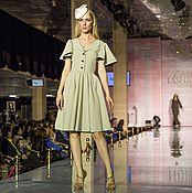Одежда ручной работы. Ярмарка Мастеров - ручная работа Дизайнерское коктейльное платье. Handmade.