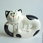 Для дома и интерьера handmade. Livemaster - original item Cat walking by itself. Handmade.