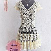 Платье цвета шампанского