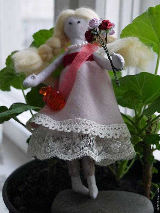 Коллекционные куклы ручной работы. Ярмарка Мастеров - ручная работа. Купить Кукла Принцесса Агнесса. Handmade. Бледно-розовый