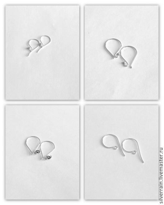 Для украшений ручной работы. Ярмарка Мастеров - ручная работа. Купить Швензы серебро 925 Бали. Handmade.