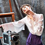 """Одежда ручной работы. Ярмарка Мастеров - ручная работа Блузка """"Классический шик"""". Handmade."""
