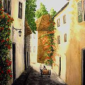 Картины и панно handmade. Livemaster - original item Morning in Provence. Handmade.