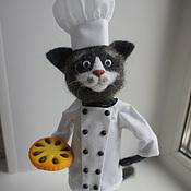 Куклы и игрушки ручной работы. Ярмарка Мастеров - ручная работа шеф-повар Мяурицио. Handmade.