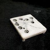 Для дома и интерьера handmade. Livemaster - original item Soap dish from concrete