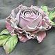 бледно-розовый, цветы из кожи, цветы из замши, розовый цветок, роза из кожи, кожаные цветы, кожаные украшения, брошь цветок, брошь роза, заколка с розами, ободок с розой, заколка из кожи, роза из замш