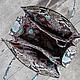 Женские сумки ручной работы. Кожаная сумка из питона Victoria . Сумка из питона. Maria. Ярмарка Мастеров. Фото №5