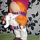 Человечки ручной работы. Интерьерная текстильная кукла. Юлия (Viktoria555). Интернет-магазин Ярмарка Мастеров. Белый, подарок на любой случай