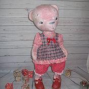Куклы и игрушки ручной работы. Ярмарка Мастеров - ручная работа Мишка Тедди (54см).Милаша. Handmade.